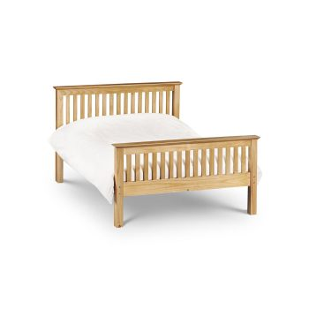 Barcelona Double Bed Pine
