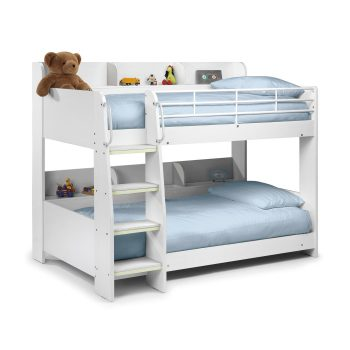 Domino Bunk White