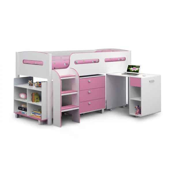 Kimbo Cabin Bed Pink