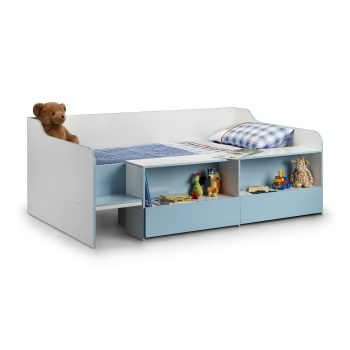 Stella Low Sleeper Cabin Bed Blue