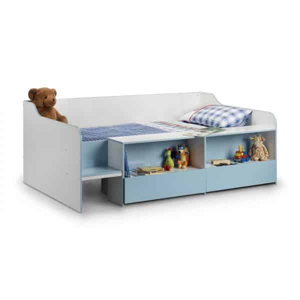 Stella Low Sleeper Cabin Bed Blue