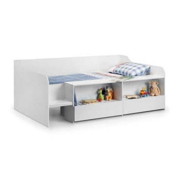 Stella Low Sleeper Cabin Bed White
