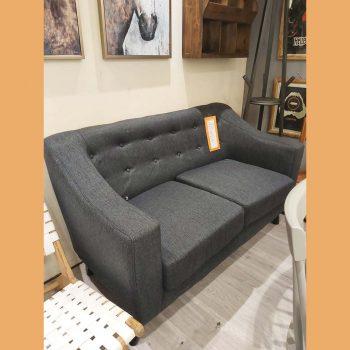 2 Seater Button Sofa