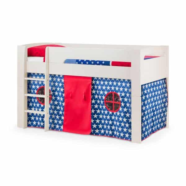 Pluto Cabin Bed with Blue Star Tent