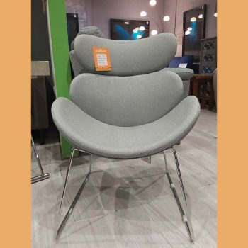 Funky Grey Chair