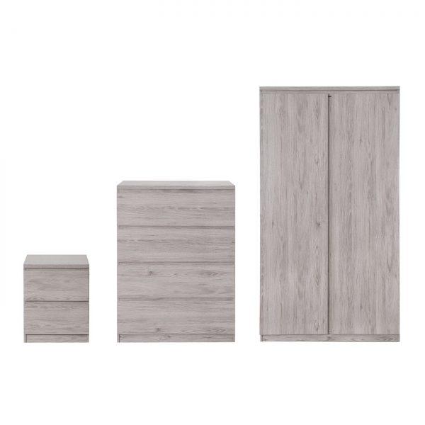 Jupiter Bedroom Collection Grey Oak