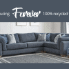 Introducing Forever 100% recycled fabrics - from Lifestyle Furniture
