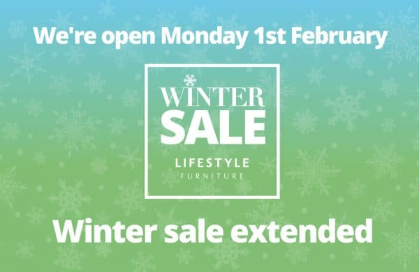 Lifestyle Furniture - Reopens Monday 1 February 2021